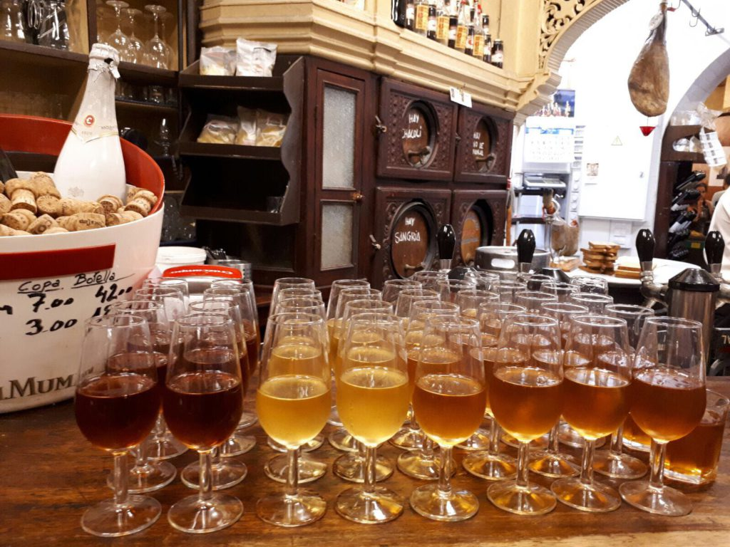 sherry tasting incentive trip